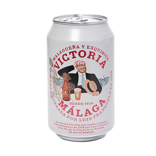 Пиво світле VICTORIA 4,8% з/б 0,33л