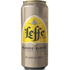 Пиво св.Leffe Blonde 6,6% 0,5л з/б
