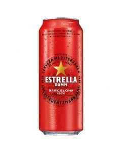 Пиво св.Estrella Barcelona 4,6% 0,5 з/б