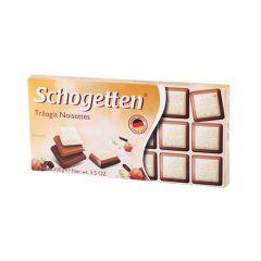 Шоколад б з подр.фунд. Schogetten 100гр