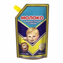 Молоко згущ.8,5% Первомайськ д/п 290г