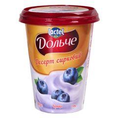 Десерт сирк.3,4% з чорн.Дольче ст.0,4 кг