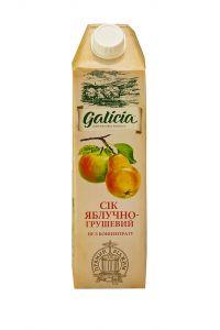 Сік 1л Galicia яблучно-грушевий TGA