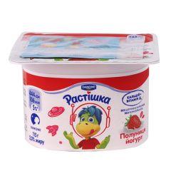 Йогурт 2,0% полуниця Растишка 115г