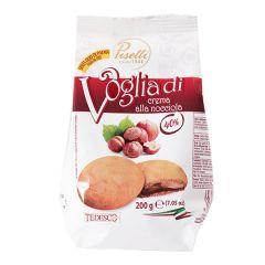 Печиво з кремом з ліс.гор.Piselli 200г