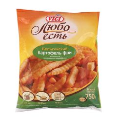 Картопля фрі хвиляста VICI 750г