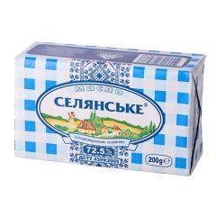 Масло сол/вер.72,5% Селянське 200г
