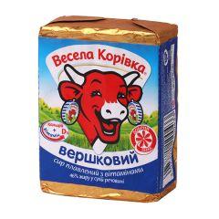 Сир пл 46% Вершковий Весела Корівка 90г