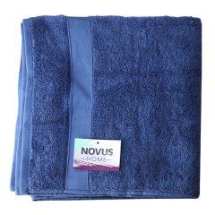 Рушник мах. 70*140 синій NOVUS HOME