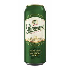 Пиво св.Staropramen 4,2% 0,5л з/б