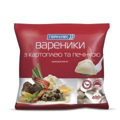 Вареники з картоп та печін Геркулес 400г