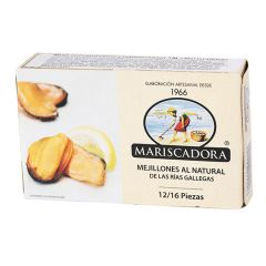 Мідії в олії Mariscadora ж/б 125мл