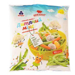 Овочева суміш Дитячий мікс Рудь 400г