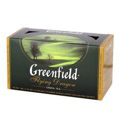 Чай зел.Flying Dr.Greenfield з/я 2г*25шт