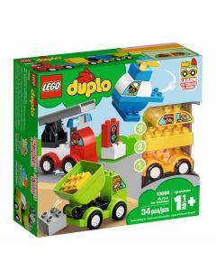Конструктор Мої перші машини Lego 10886