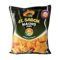 Чіпси начос/смак халапенйо El Sabor 225г