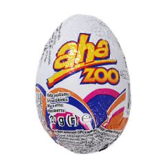 Яйце з м.шок.з ігр.сюрпр.Aha Zoo 20г