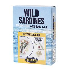 Сардина рослинній олії Trata 100г