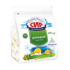 Сир кисломолочний 5% Білоцерківське 350г