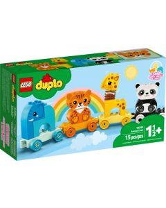 Конструктор Потяг із тваринами Lego