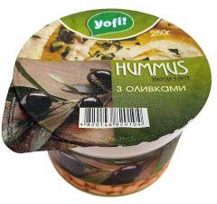 Хумус з оливками Yofi 250г